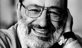 Author Umberto Eco. Photo Guido Harari/Contrasto/Redux. Courtesy Raincoast Books.