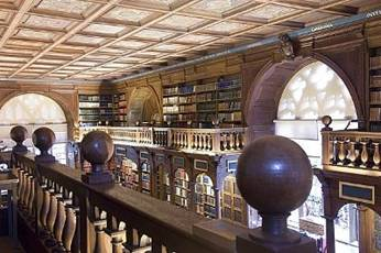 The Bodleian Library, Seldon End gallery.  © Bodleian Library