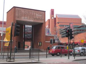 British Library, St. Pancras