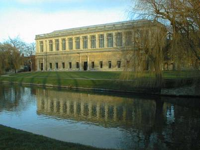 Wren Library from the Backs