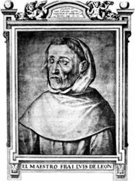 Fray Luis de León, descrito en una biografía de James Fitzmaurice-Kelly.