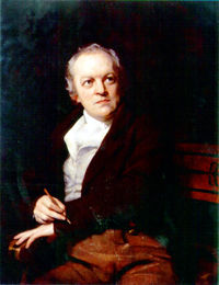 Retrato de William Blake por Thomas Phillips.
