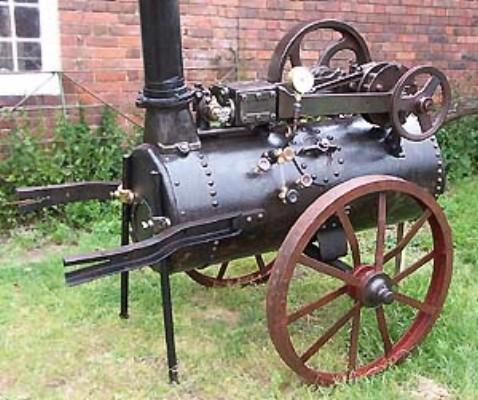 Vehiculos y motores a vapor